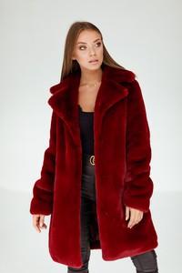 Czerwony płaszcz Smoke Furs