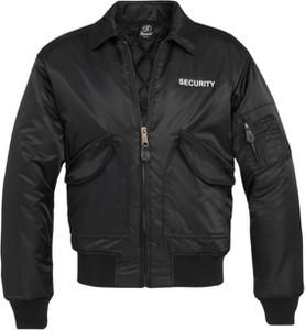 Czarna kurtka Brandit w stylu casual krótka
