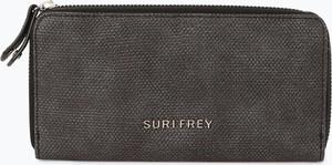Brązowy portfel Suri Frey