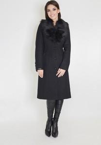 Czarny płaszcz Marcelini