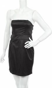 Czarna sukienka Melrose bez rękawów gorsetowa