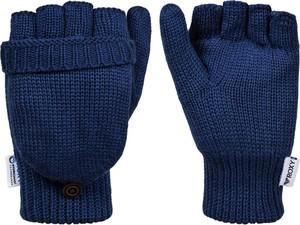 Niebieskie rękawiczki Maravilla Boutique