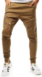 Brązowe spodnie Dstreet