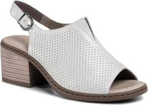 Sandały Rieker w stylu casual z klamrami