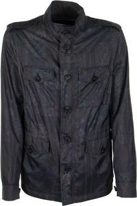 Niebieska kurtka Etro krótka