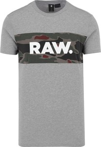 T-shirt G-Star Raw w młodzieżowym stylu