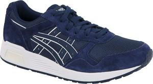 Granatowe buty sportowe ASICS sznurowane