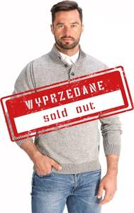 Sweter Lanieri Fashion z żakardu