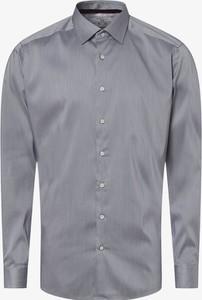 Niebieska koszula Finshley & Harding z długim rękawem w stylu casual z klasycznym kołnierzykiem