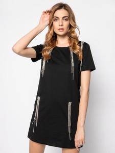 Sukienka Silvian Heach mini z krótkim rękawem