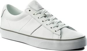 Tenisówki polo ralph lauren - sayer 816702987001 white