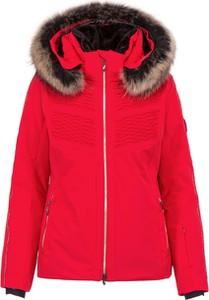 Czerwona kurtka Descente z tkaniny w stylu casual