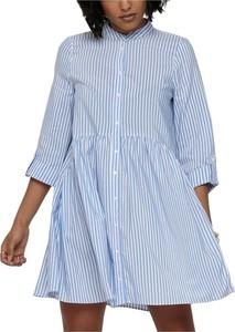 Sukienka Only koszulowa z długim rękawem mini