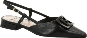 Czarne sandały Marella ze skóry
