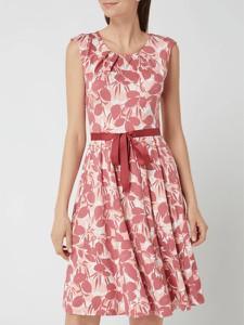 Sukienka Montego z dekoltem w kształcie litery v bez rękawów mini