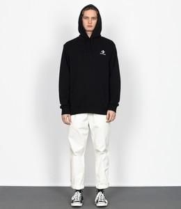 Czarna bluza Converse z bawełny