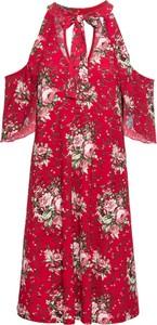 Sukienka bonprix BODYFLIRT boutique midi w stylu boho