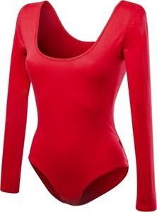 f3fa25b23d65fb czerwone koronkowe body - stylowo i modnie z Allani