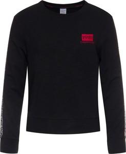 Czarna bluza Calvin Klein krótka w stylu casual