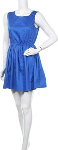 Sukienka Blue Sand bez rękawów mini