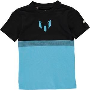 Błękitna koszulka dziecięca Adidas