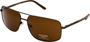 okulary przeciwsłoneczne Guess GU 6595 BRN1