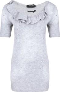 Bluzka Dsquared2 z krótkim rękawem