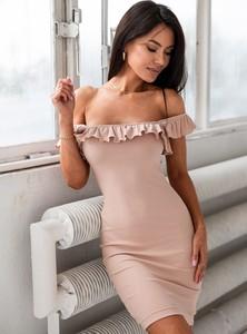Sukienka SELFIEROOM mini z krótkim rękawem
