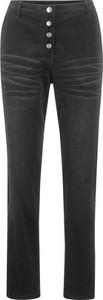 Spodnie bonprix bpc bonprix collection ze sztruksu