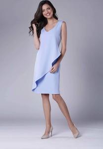 Sukienka Nommo midi bez rękawów