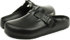 Czarne buty letnie męskie Birkenstock w stylu casual