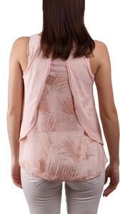 Różowy t-shirt Deha