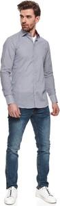 Koszula Top Secret z klasycznym kołnierzykiem z długim rękawem w stylu casual
