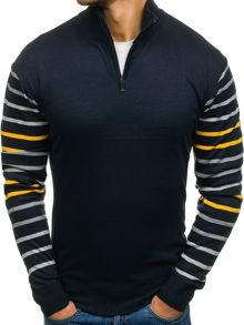 Czarny sweter denley z elastanu