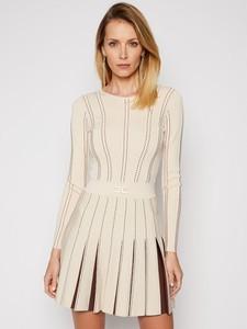 Sukienka Elisabetta Franchi w stylu casual z długim rękawem