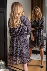 Sukienka you store w stylu casual mini z długim rękawem