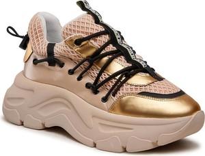 Złote buty sportowe Fabi