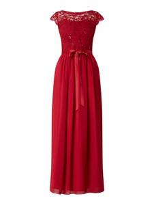 Sukienka Swing z szyfonu maxi