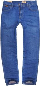 Jeansy Wrangler w street stylu z jeansu