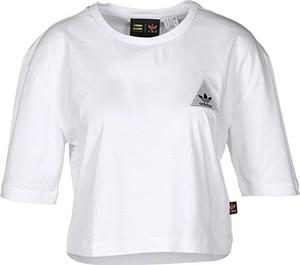 0266cb14ec Białe bluzki i tuniki damskie Adidas