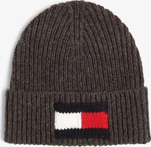 Brązowa czapka Tommy Hilfiger