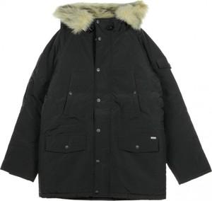 Kurtka Carhartt WIP długa z bawełny w stylu casual