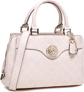Różowa torebka Guess do ręki