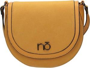 Żółta torebka NOBO w stylu casual na ramię matowa