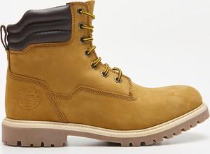 Żółte buty zimowe Cropp