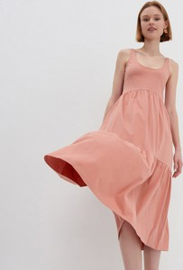Sukienka House z bawełny z dekoltem w kształcie litery v