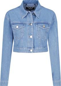 Kurtka Elisabetta Franchi z jeansu w stylu casual