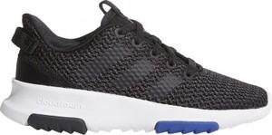 Czarne buty Adidas sznurowane