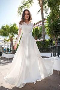 Sukienka Marconi maxi z krótkim rękawem