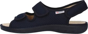 Granatowe sandały Superga